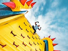 Get Bouncy, The World's Biggest Inflatable Theme Park Is Coming