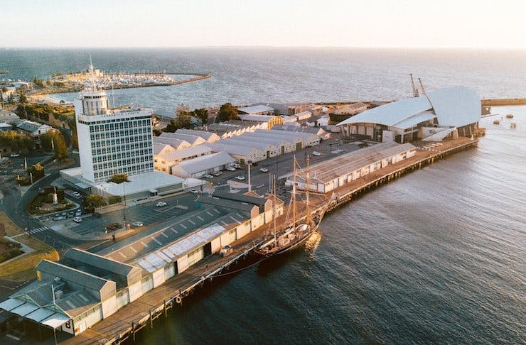 Fremantle's Favourite Pop-Up Wharf Bar Is Coming Back