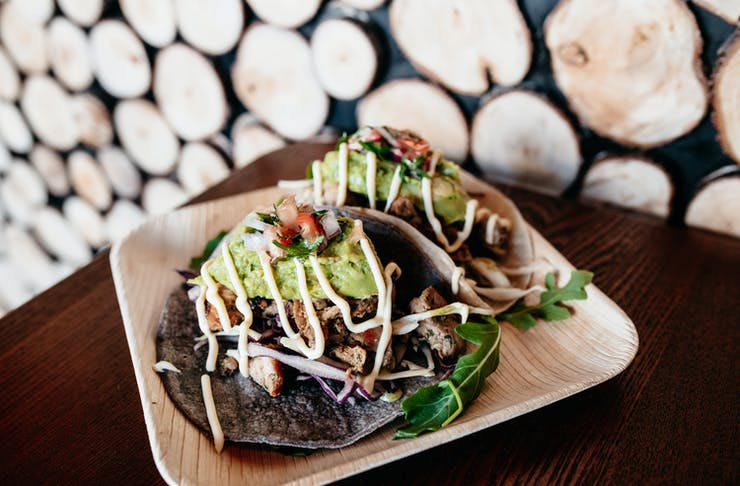 Delicious looking tacos at The Don.