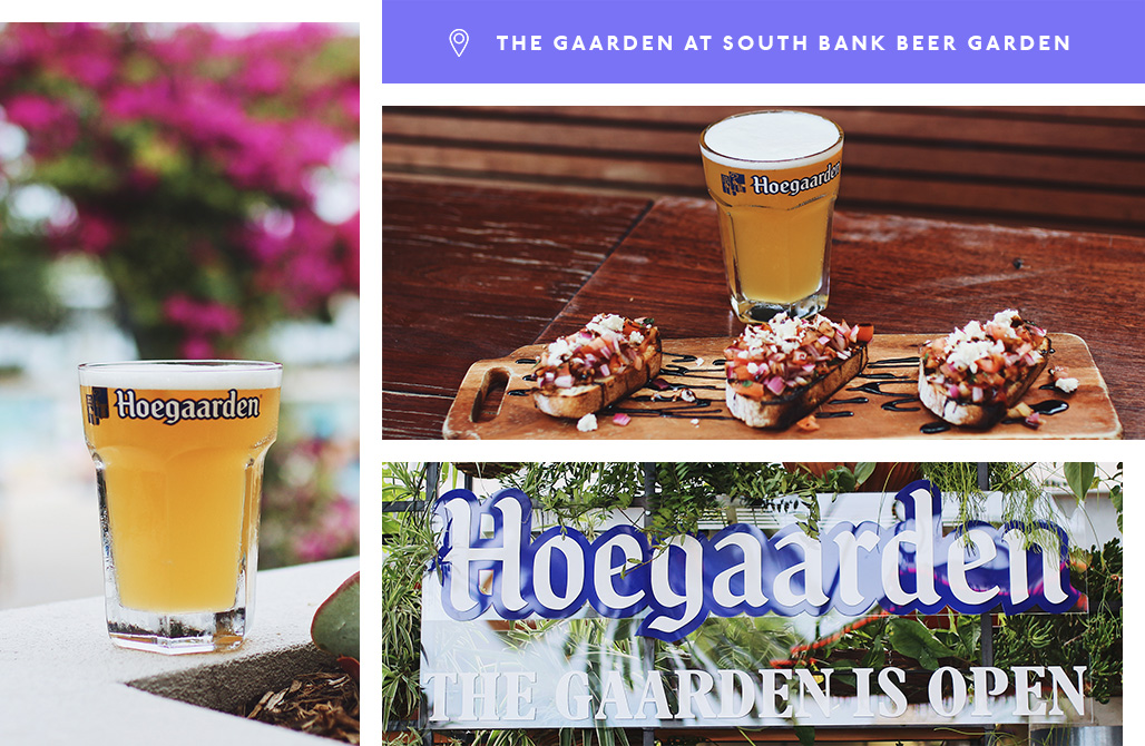 Hoegaarden, the Gaarden, South Bank Beer Garden