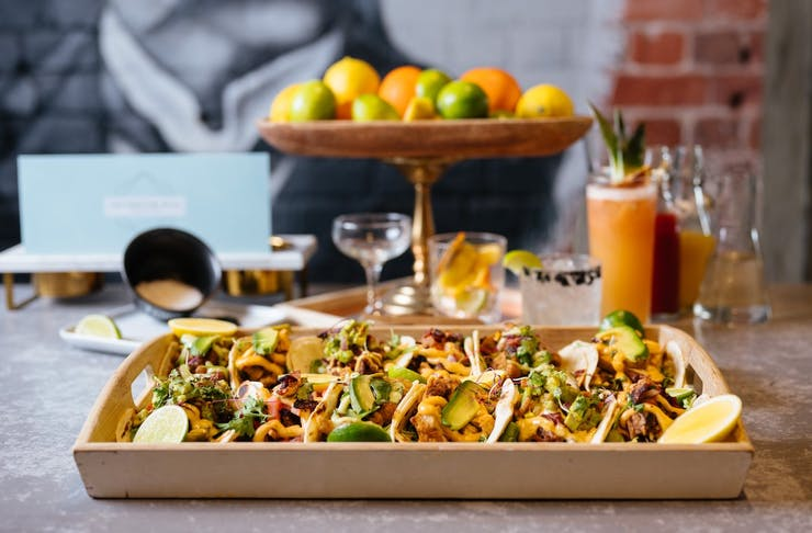 The Globe Bottomless Tacos And Bottomless Margaritas