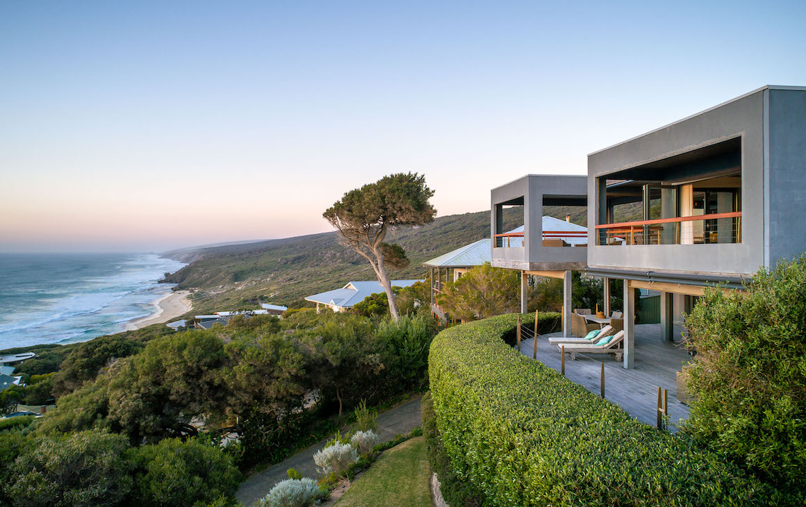The Lookout residence in Yallingup
