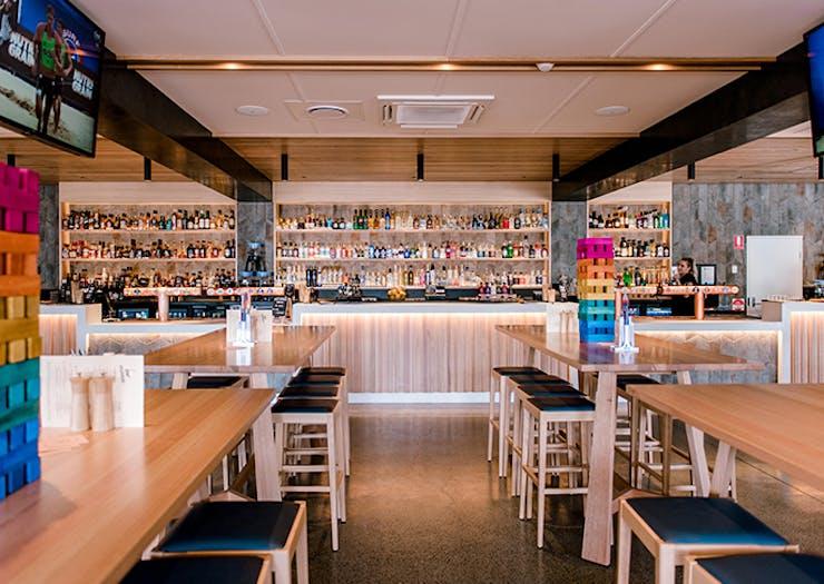 The Miami restaurant sports bar