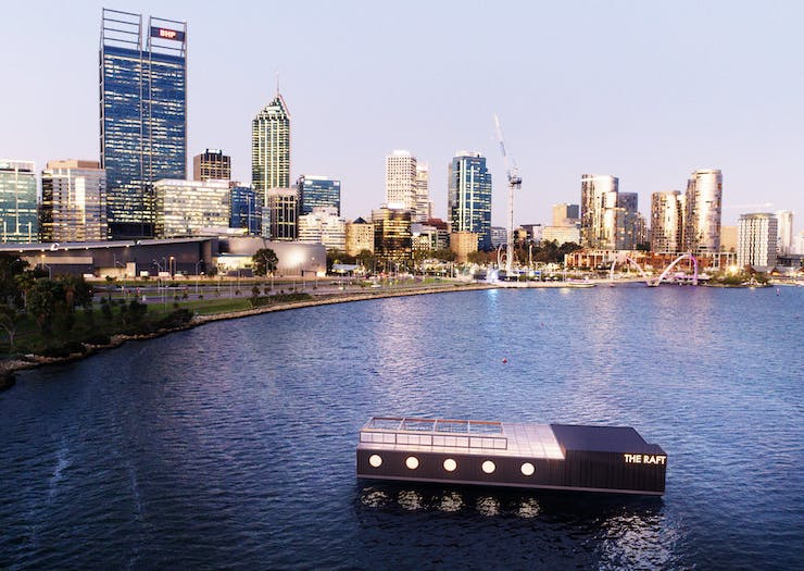 Time To Party, A Bottomless Brunch Is Coming To Perth's First Floating Events Space Next Month