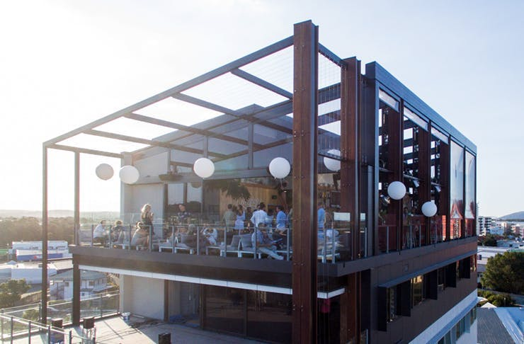 the rooftop bar maroochydore