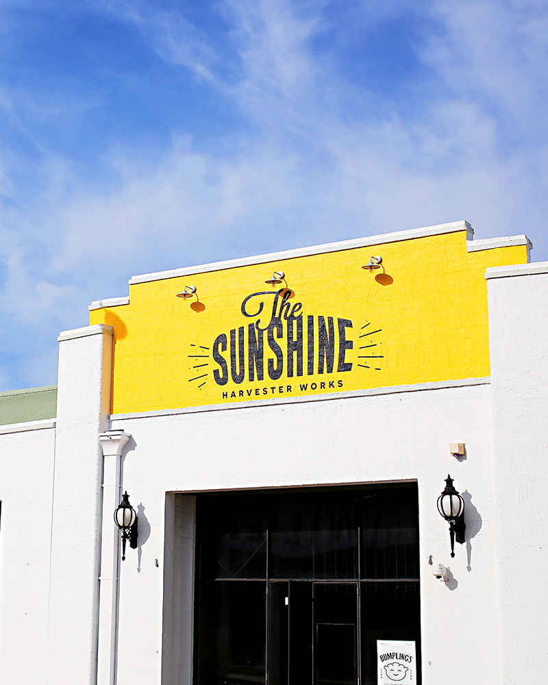 The Sunshine Harvester Works