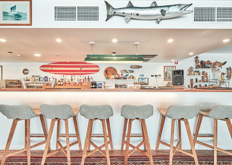 Byron Bay's first rooftop bar at The Surf House.