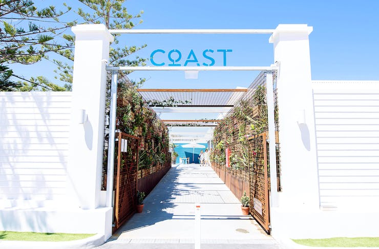 The entrance to Coast Port Beach