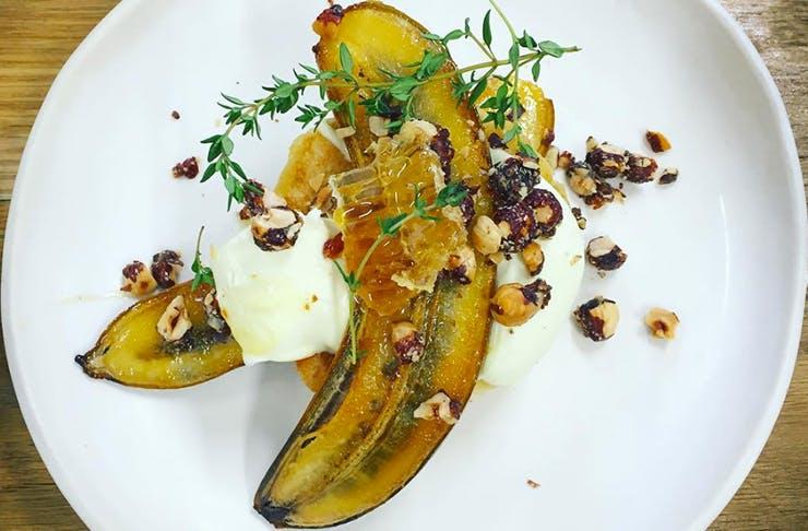 auckland's best banana breakfast