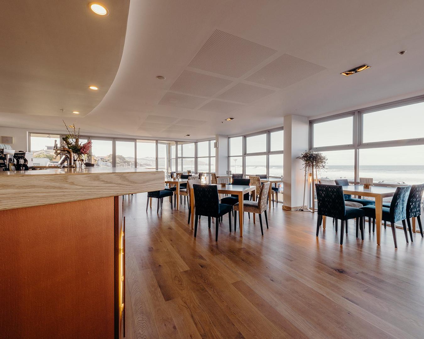 The interior of titi restaurant.