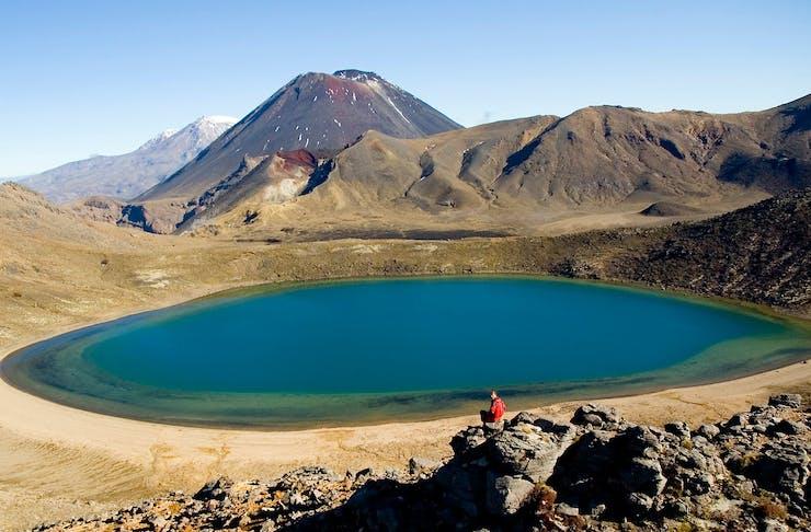 Blue Lakes, Tongariro Alpine Crossing