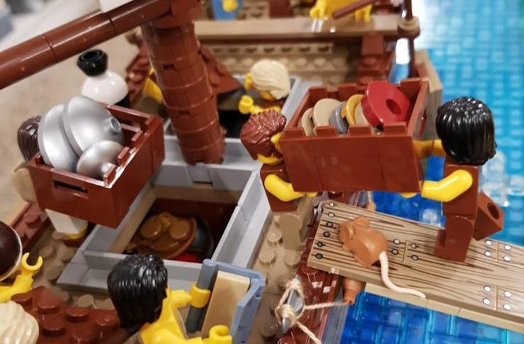 Brickwreck Lego