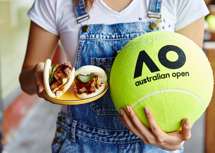 The Tennis Is Serving Up A Free Food Festival And It's Basically Our Dream Event