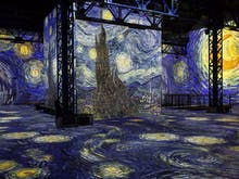 Become One With Van Gogh's Art At This Immersive Art Show In Paris