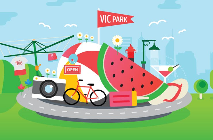 Vic Park Summer Street Party