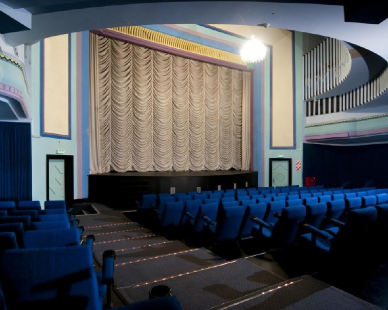 Vintage interiors of the The Vic cinemas