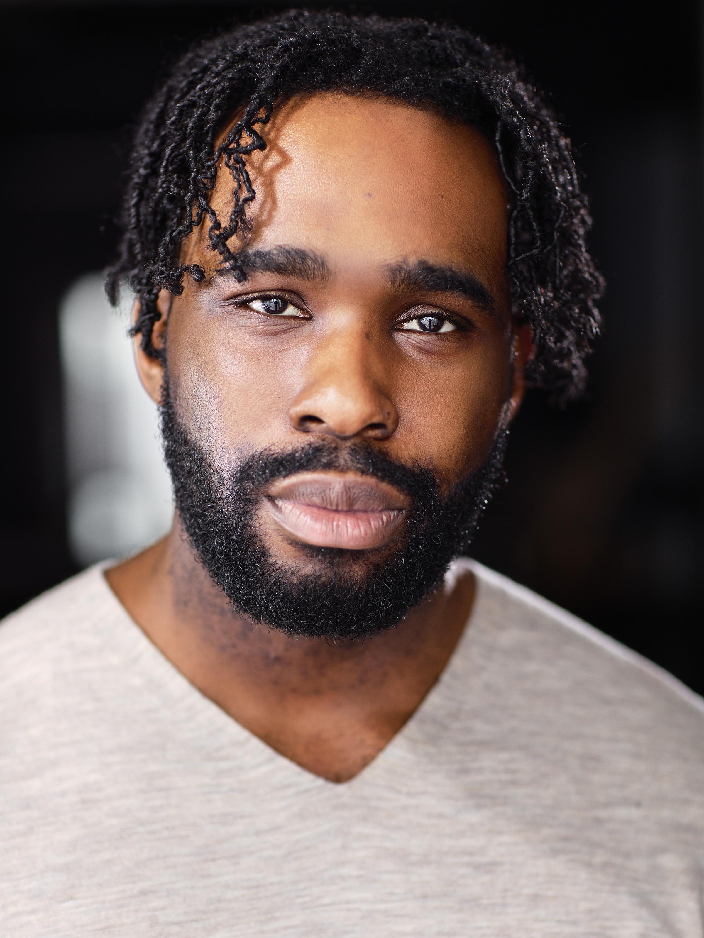 A headshot of actor Victory Ndukwe.