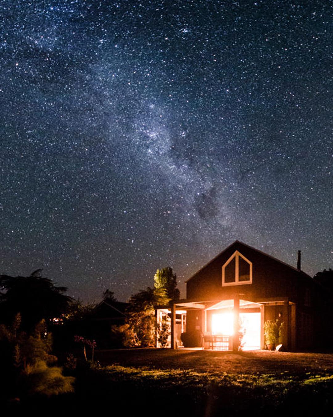 The Wairua Lodge Underneath The Stars