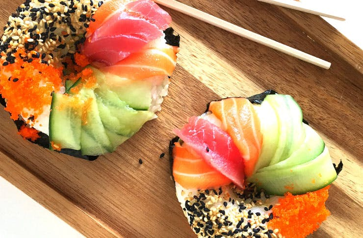 We Found Sushi Doughnuts in Auckland