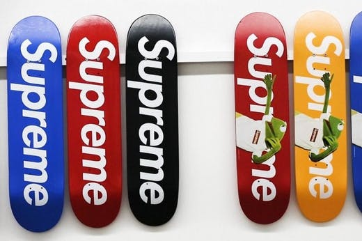 The Entire Supreme Skate Deck Collection Is About To Be Auctioned Off