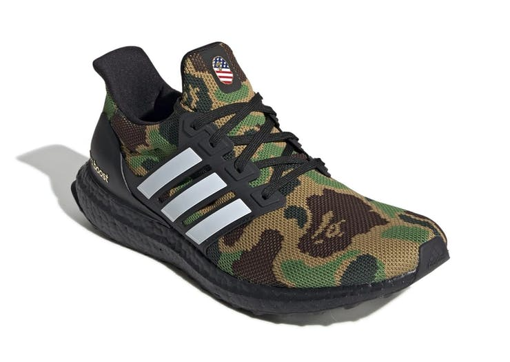 Here's Your First Look At The BAPE X Adidas Collab