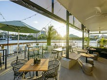 Ring In The New Year Sipping Cocktails On The River At Brisbane's New Overwater Bar