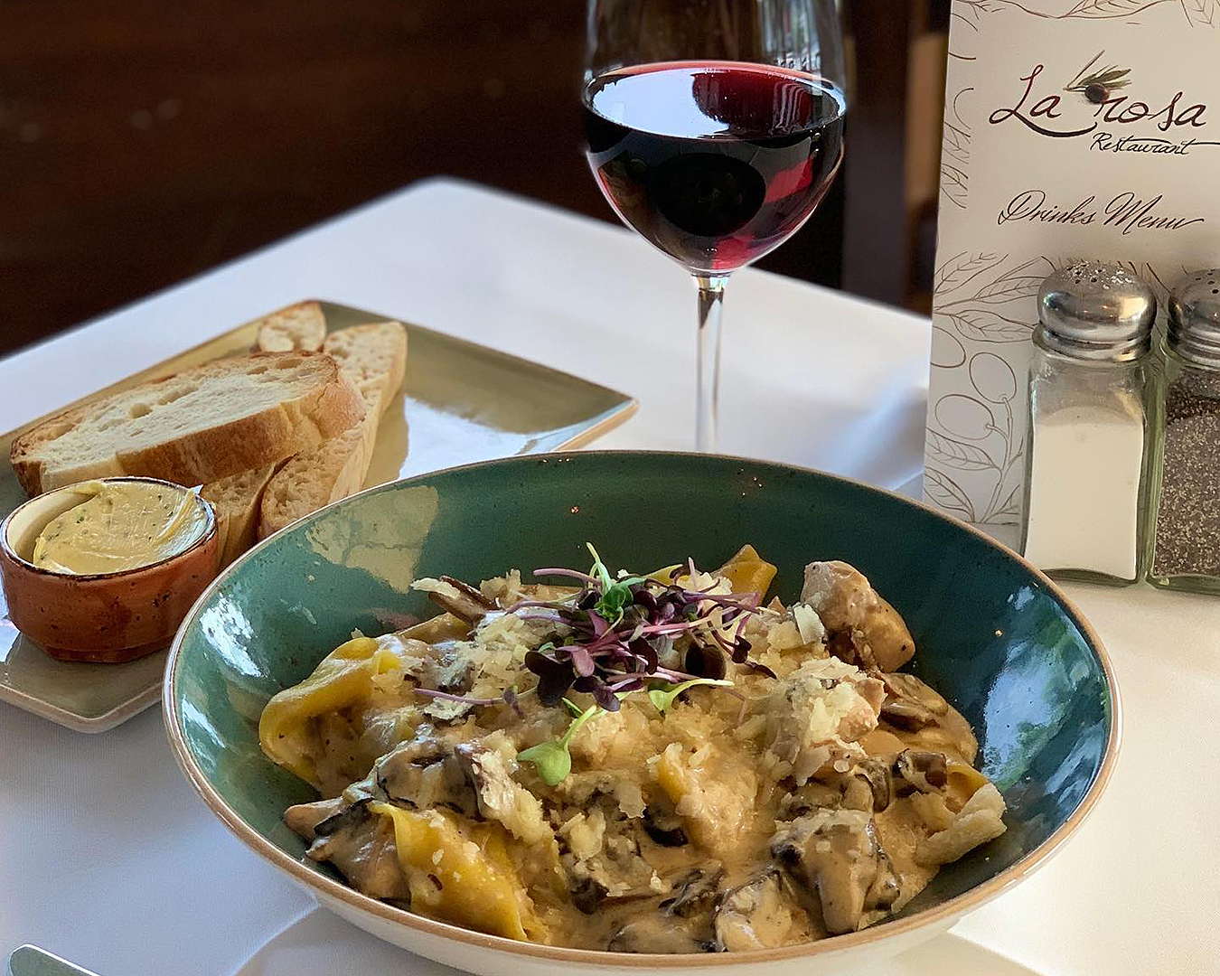 Wine & Pasta at La Rosa