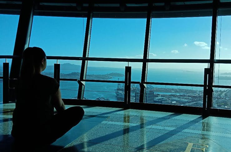 Yoga In The Sky At The Sky Tower