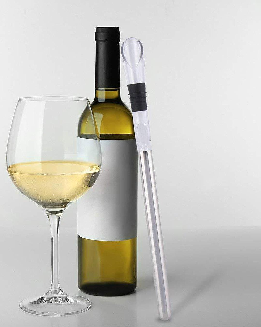 Yellow Octopus Wine Chill Stick Kitchen Gadget
