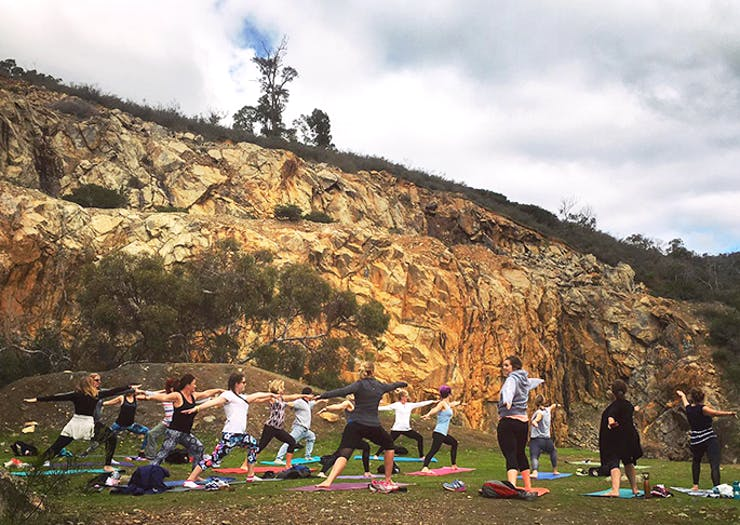 Yikes! | Yoga Hikes Are A Thing In Perth
