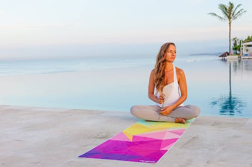 Why You Need This Uber Cool Yoga Mat Made From Recycled Plastic Bottles