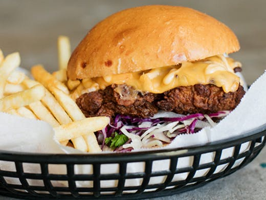 Your Mates Brewhouse burger