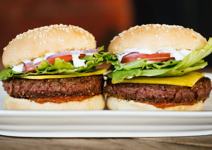 You Need To Take A Bite Out Of This New Faux Meat Burger