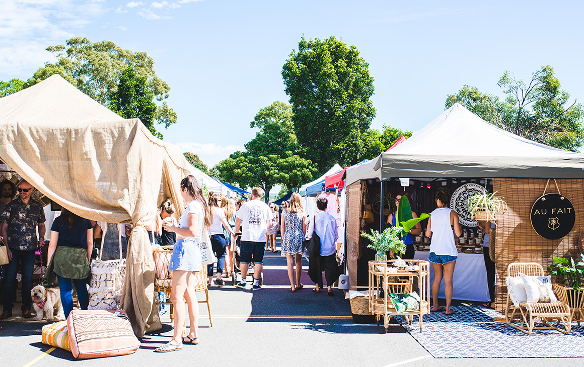 best markets on the Gold Coast