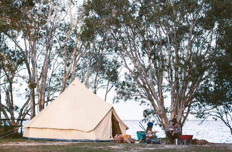 best-camping-spots-sunshine-coast