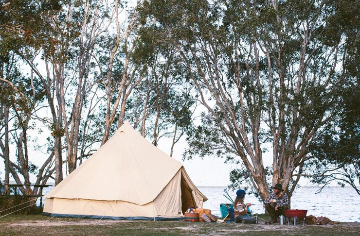 best-camping-spots-sunshine-coast
