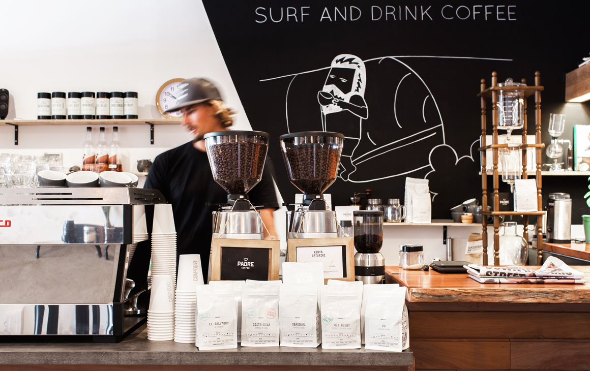 Surf and espresso bars sunshine coast