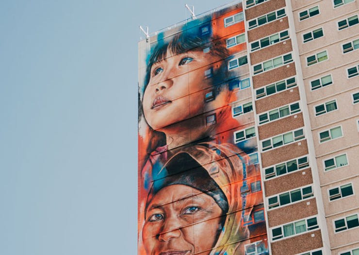 Here's Where To See The Tallest Mural In The Southern Hemisphere