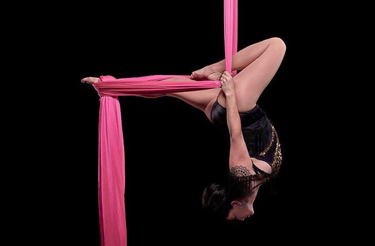 aerial yoga auckland, aracnation