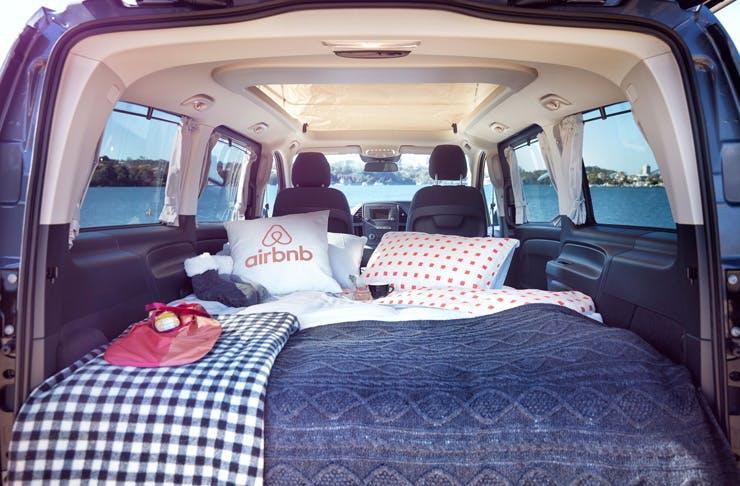 airbnb glamping cockatoo island sydney