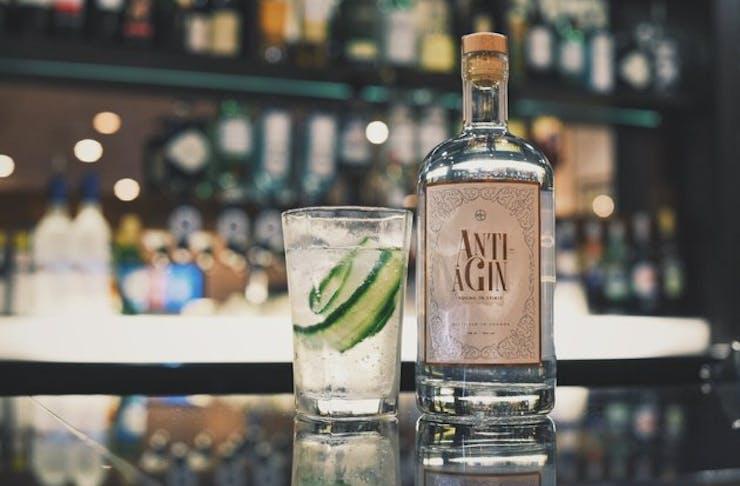 anti agin aging gin