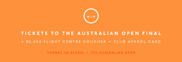 Tickets to the Australian Open Final