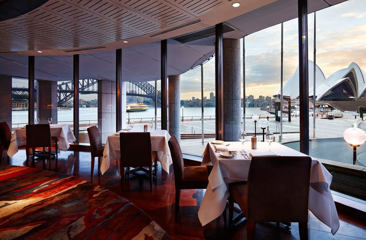 aria restaurant sydney