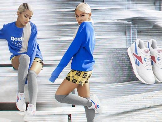 verse bien zapatos venta en pies tiros de artesanía exquisita Ariana Grande's Latest Collab With Reebok Has Just Dropped ...