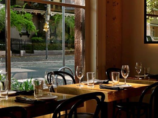 The dining room at Surry Hills modern Australian restaurant, Arthur.