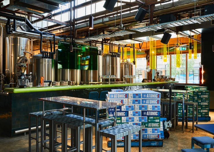 Knock Back West Australian Pale Ale At Atomic Beer Project, Redfern's New Brewpub