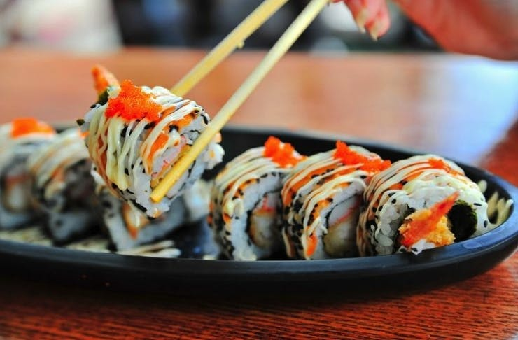 auckland's best sushi, where to find aucklands best sushi, japanese food auckland