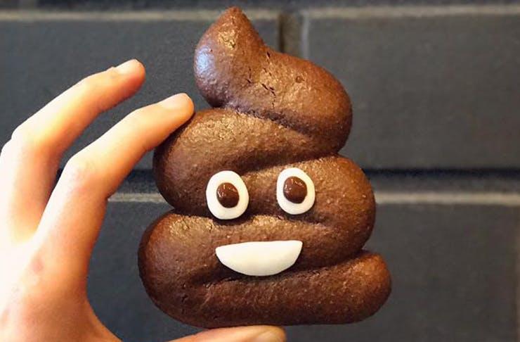 Holy Crap! Auckland Has A Poo Emoji Cookie