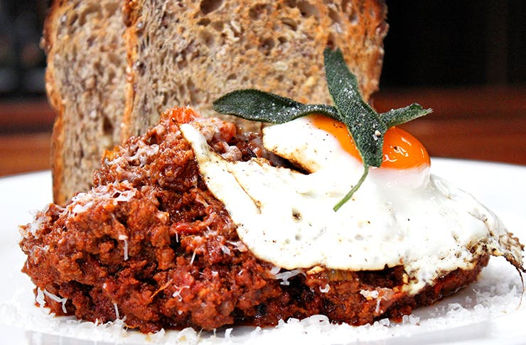 Auckland's Best Mince On Toast