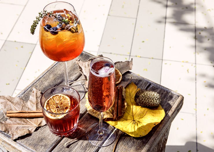 Sip Sangria Amongst Autumn Foliage At This Enchanted Parkland Pop-Up